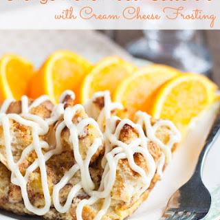 Orange Cream Cheese French Toast Casserole