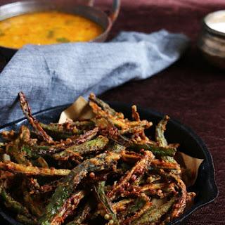 Bhindi fry recipe | Kurkure bhindi fry