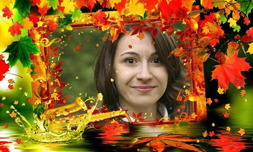 Autumn photo frames Maker