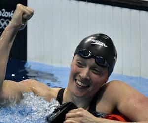 Kimberly Buys aussi a décroché une médaille à la Coupe du Monde de natation