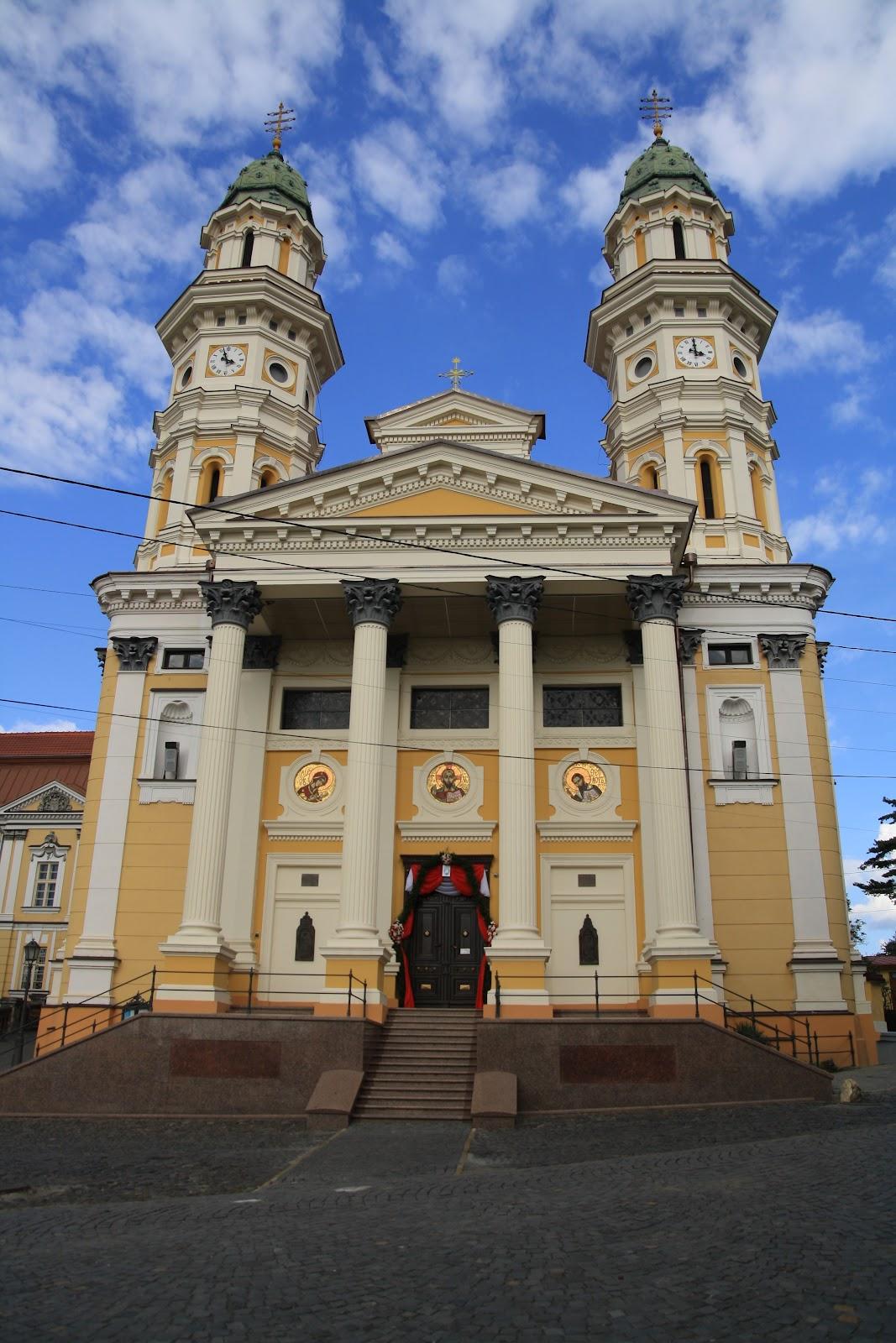Греко-католицький Кафедральний собор в Ужгороді