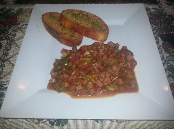 Maria's Beans With The Works Recipe