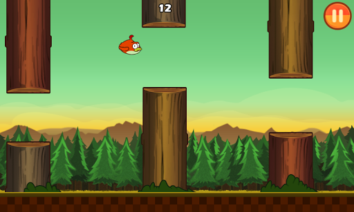 Clumsy Bird screenshot 2