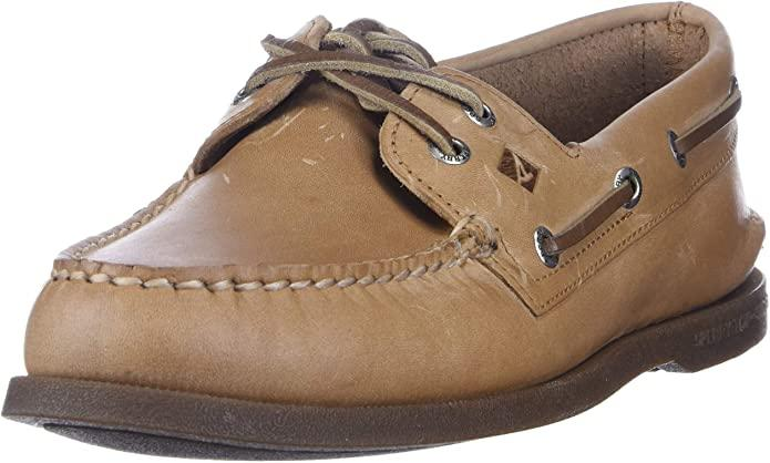 Sperry Men's Authentic Original 2-Eye Boat Shoe, Sahara, 11 M US