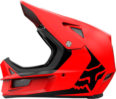 Fox Racing Rampage Comp Full Face Helmet - Bright Red, Small alternate image 2