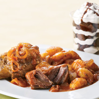 Italian Braised Beef Short Ribs With Gnocchi and Brownie Bliss