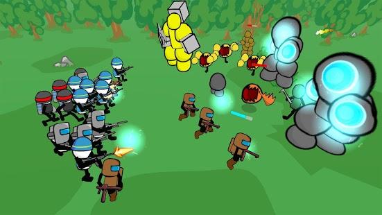 Stickman Gun Battle Simulator - náhled