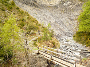 Photo: descente du Col des champs: un grand classique