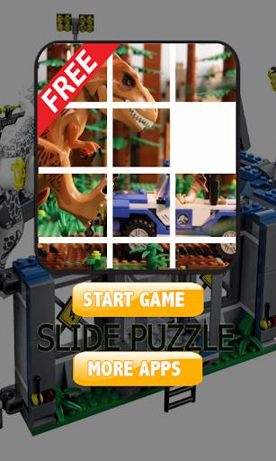 Sliding Puzzle Lego Jurassic