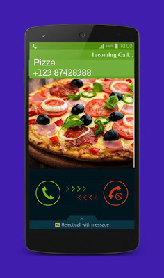 Fake Call Pizza - screenshot