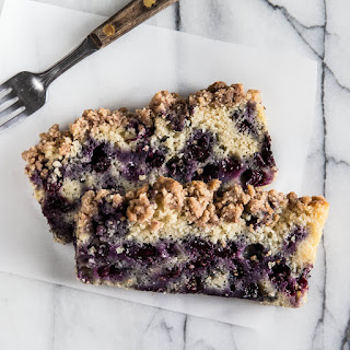 Blueberry Crumble Bread.