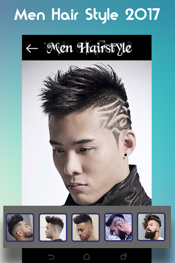 Men Hairstyle set my face 2017 1.0.9 screenshots 1