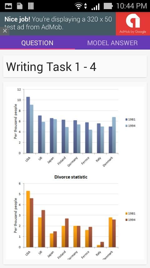 Ielts 9 score writing app