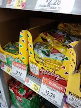 Photo: Holiday chocolate chips. Yum!