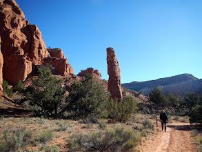 Photo: Rock pillar at Kodachrome Basin
