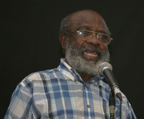 David Phetoe died at the age of 85 on Thursday' just hours after being admitted to hospital. File Photo