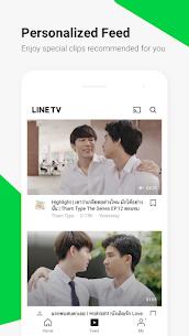 LINE TV MOD APK (Premium) 4