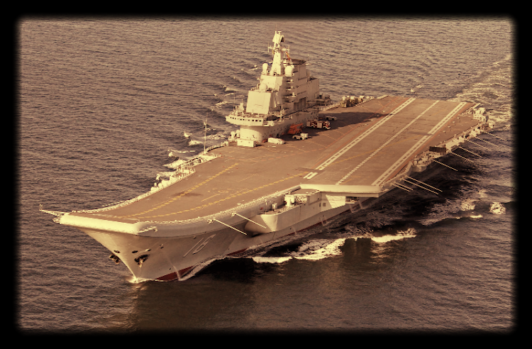China's aircraft carrier. Picture: REUTERS