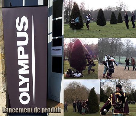 Film institutionnel – OLYMPUS. Chorégraphe de cascades, combats et duels : Alexis DIENNA.