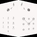 Applock Theme White icon