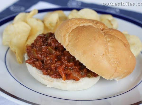 I Can't Believe This Is A Sloppy Joe!