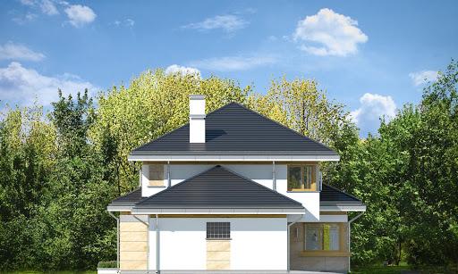 Dom z widokiem 5 - Elewacja lewa