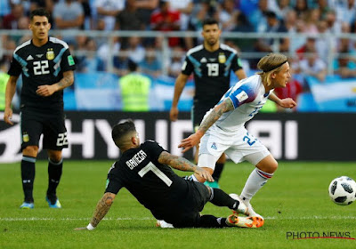 Ijsland bedwingt Argentinië, Ari Skulason (Lokeren) maakt historische match mee als invaller