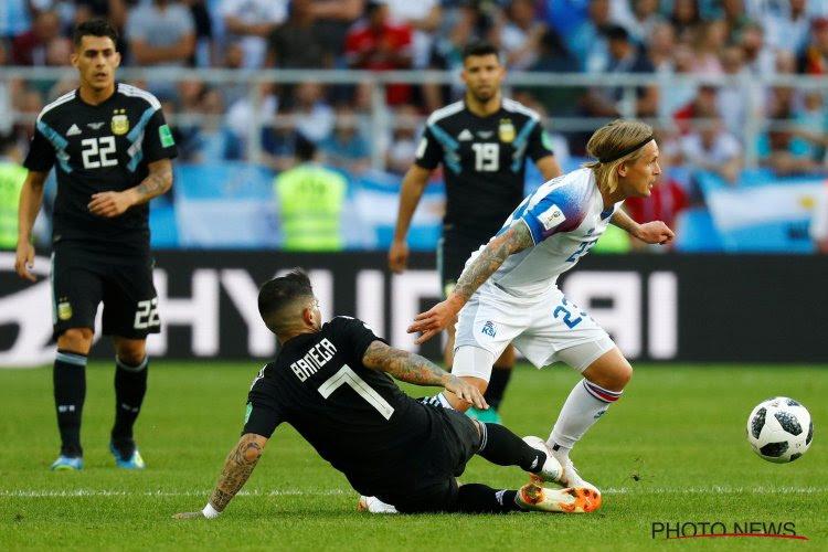 """Un Lokerenois heureux du partage contre l'Argentine : """"Notre bloc était trop bas"""""""
