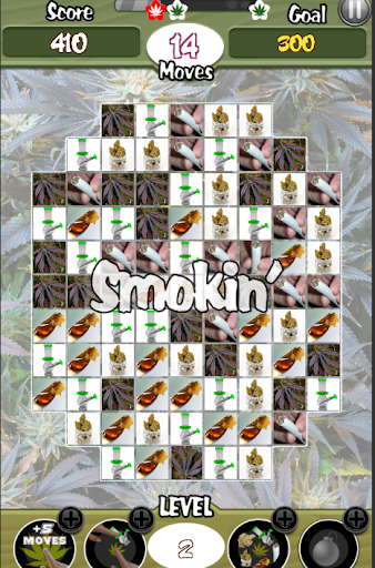 Cannabis Candy Match 3 Weed Game screenshot 1