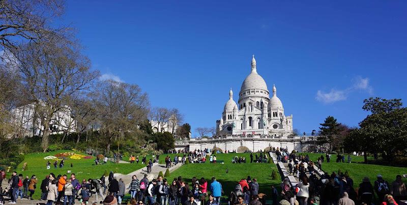 folla a Montmartre di anto1769