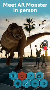 Monster Park AR - Jurassic Dinosaurs in Real World Screenshot
