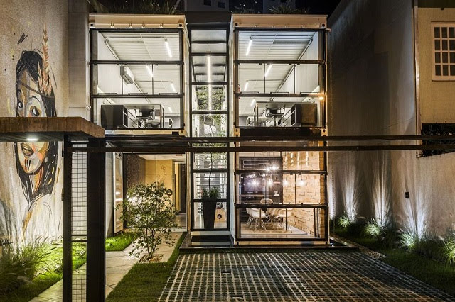 Desain Kantor Kontainer - Rodrigo Kirck Arquitetura-12