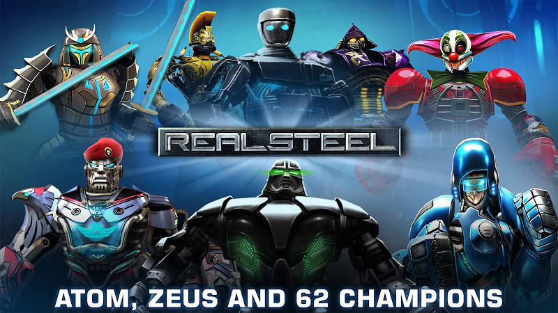 Real Steel HD v1.36.6 + Mod