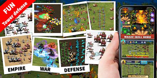 StickMan Defense War - Empire Hero & Tower Defense apktram screenshots 8