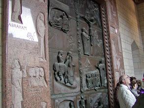 Photo: The door of the Basilica