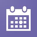 丸印カレンダー (ウィジェット対応) icon