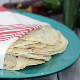 Homemade Flour Tortilla.