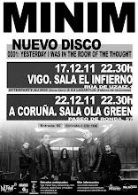 Photo: Vas a faltar a esta cita????  Mañana a las 22.30h en la sala Infierno de Vigo. Entrada: 5€ 10€ ( con el nuevo cd)