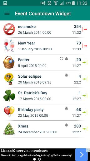 玩生活App|Event Countdown Widget Premium免費|APP試玩