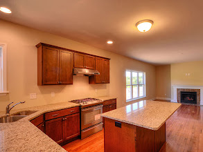 Photo: The kitchen and family room in the MADISON