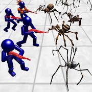 Stickman Spiders Battle Simulator