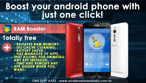 RAM Booster Phone boost screenshot 00