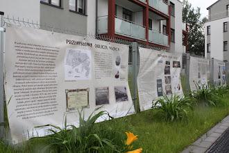 Photo: wystawa na temat przemysłowej historii Włoch - Osiedle Tęczowe