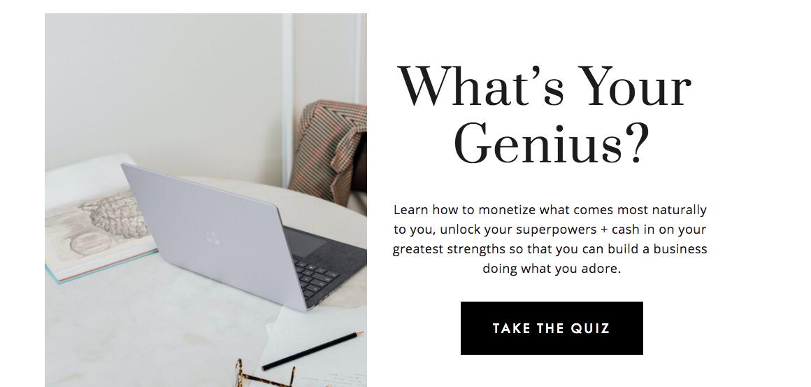 What's your genius quiz cover