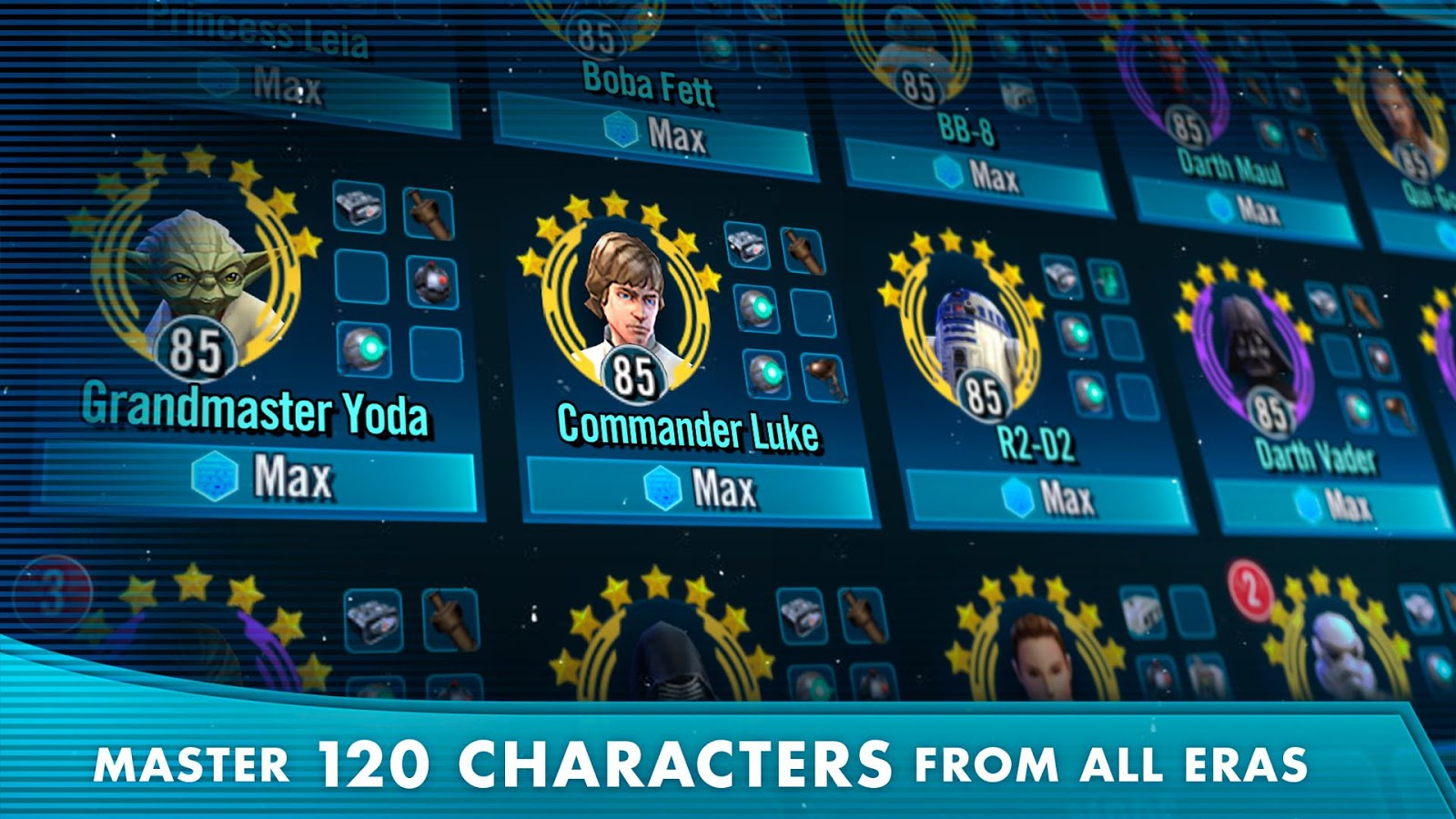 Star Wars™: Galaxy of Heroes LIGHT SIDE RANKING UP FAST ...