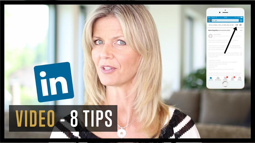 LinkedIn marknadsföring - LinkedIn native video