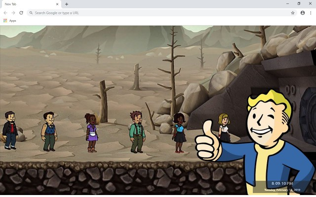 Fallout Shelter New Tab
