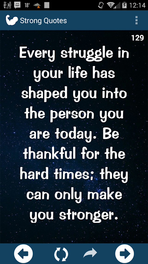 Strong Life Quote Mesmerizing Strong Life Quotes  Android Apps On Google Play