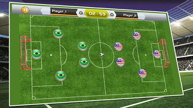 New Soccer Stars 2018 : Carrom King Soccer Game Android 2