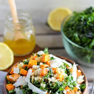 Kale and Sweet Potato Salad.